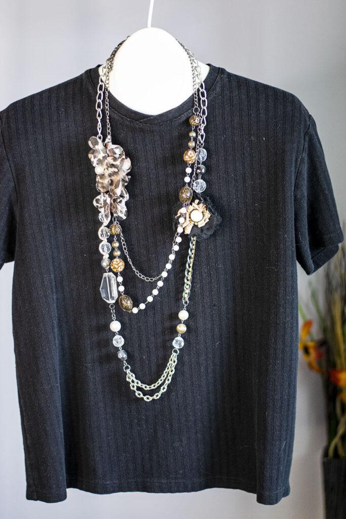 2 longer necklaces together