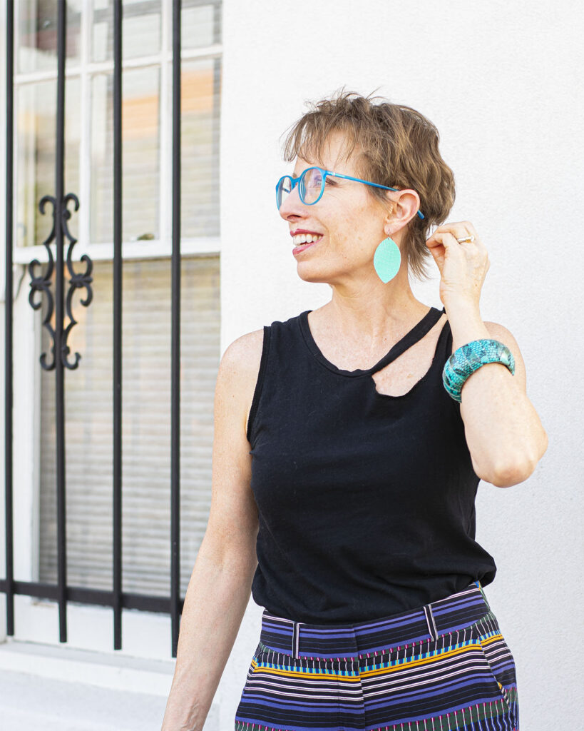 Colorful glasses for women