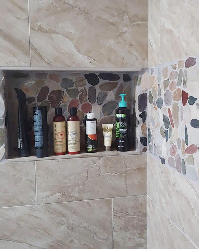 Best kind of shower niche