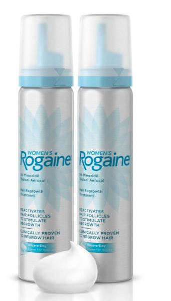 Rogaine for aging hair
