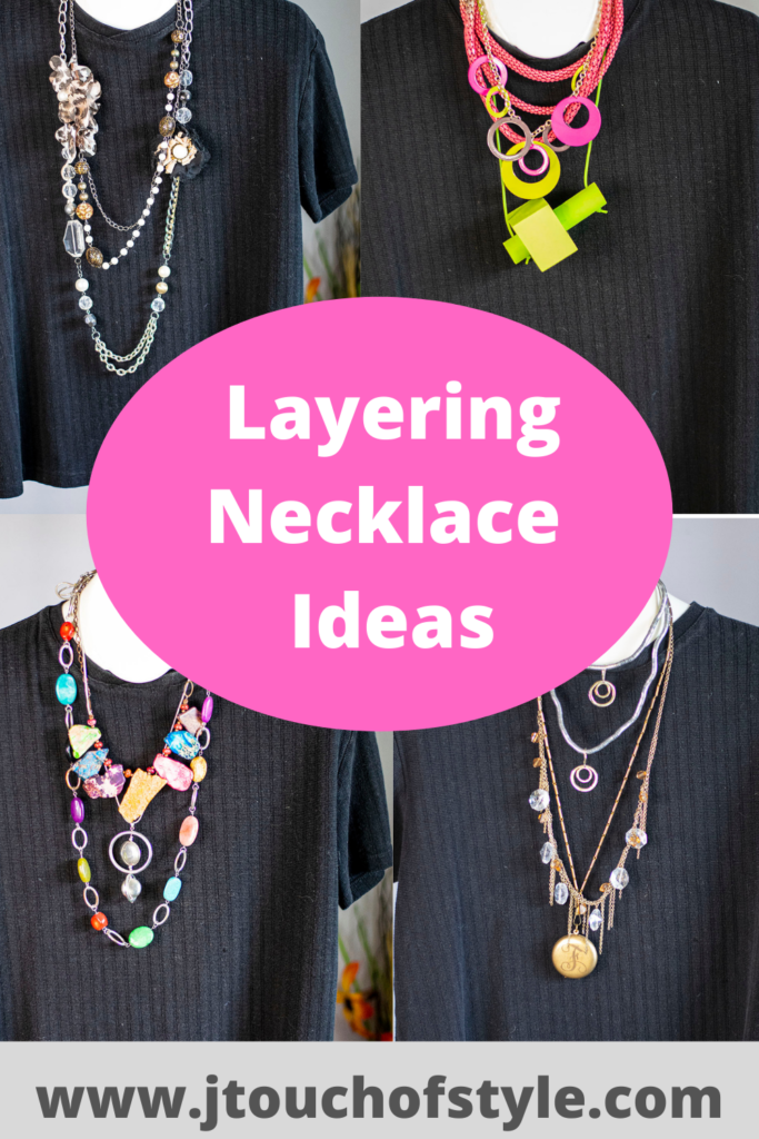 Layering necklace ideas