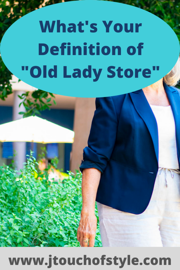 What's your definition of old lady store