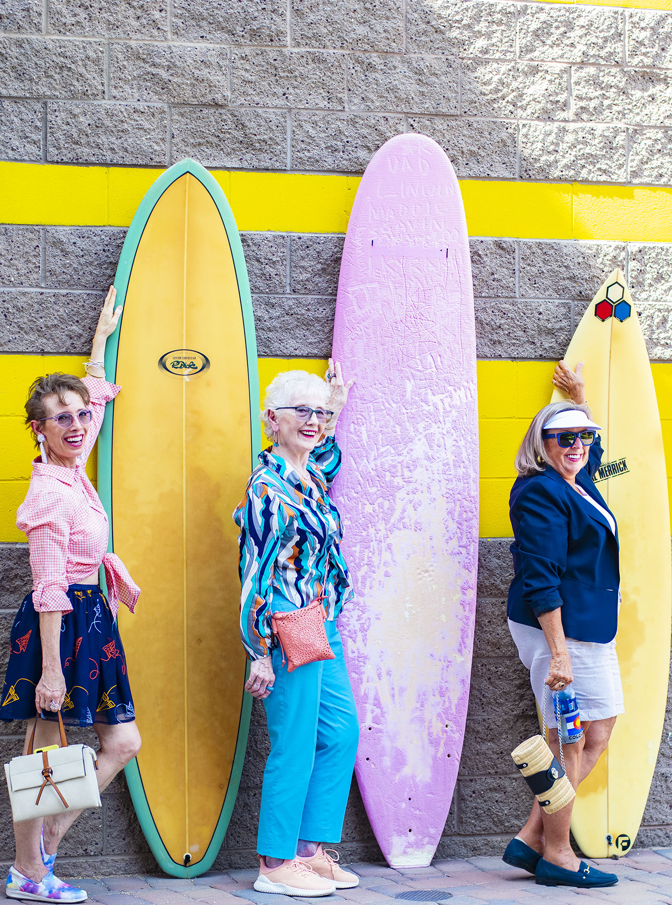 Bold & Colorful Style: Older Women's Clothing Brands