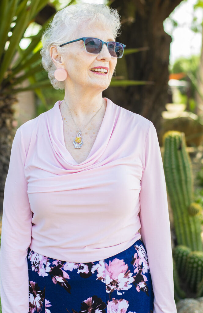 Pink for older women