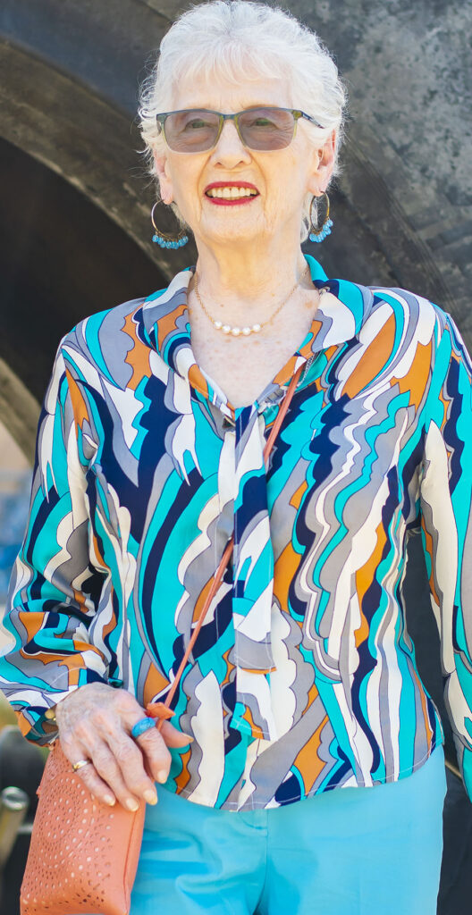 Mix and match older women's clothing brands
