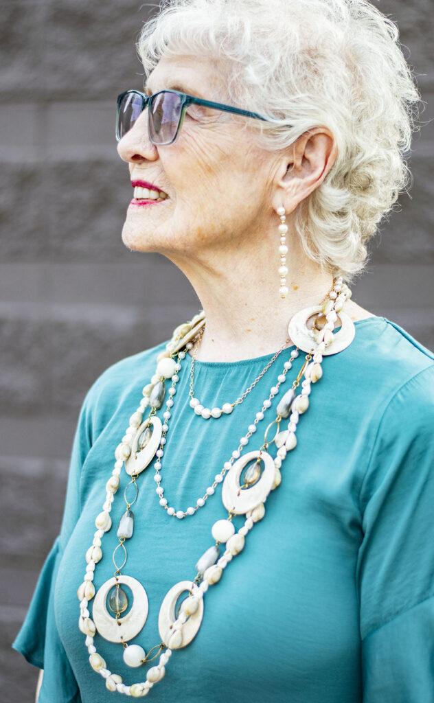 Summer style and how to wear multiple necklaces