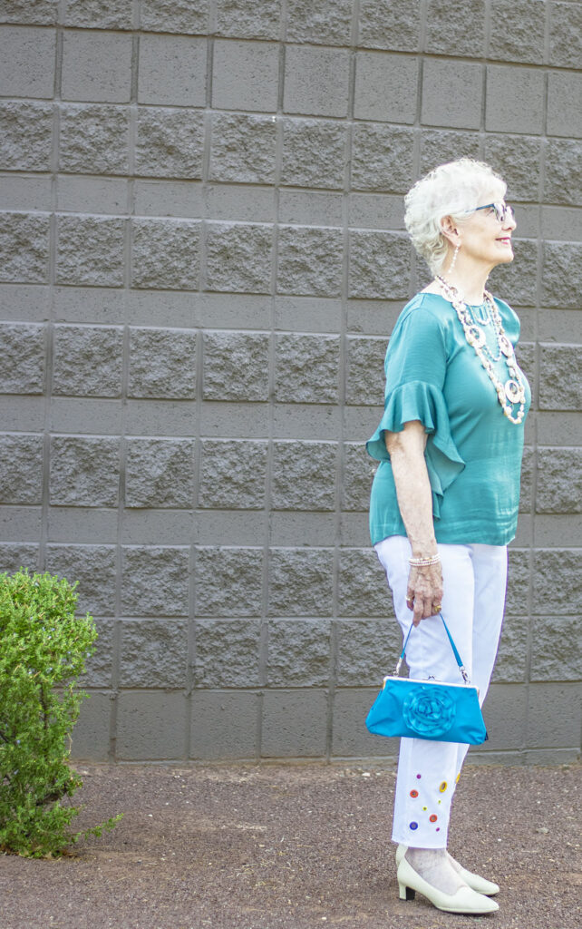 Woman over 80 summer fashion
