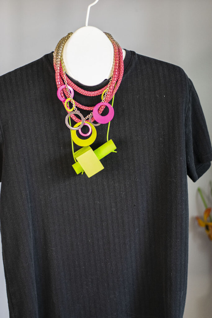Hard to style necklace?