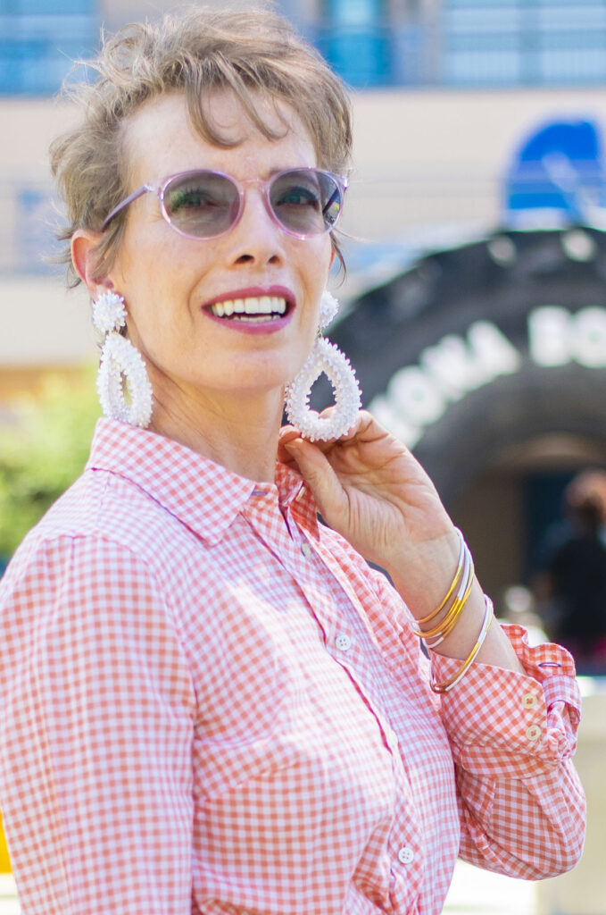 Adding whimsey to gingham
