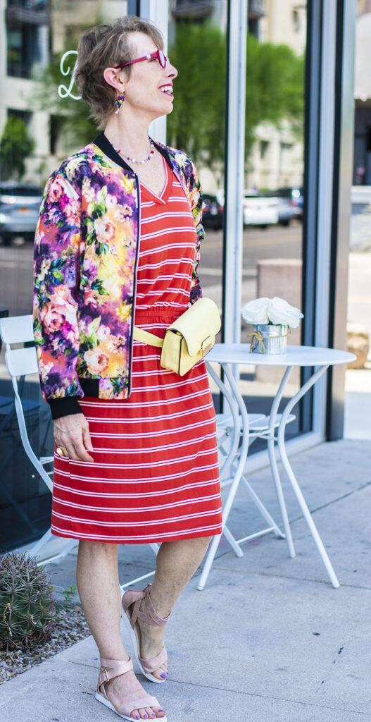 How to style stripes and florals