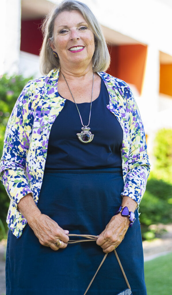 Summer to fall transition for women's clothes