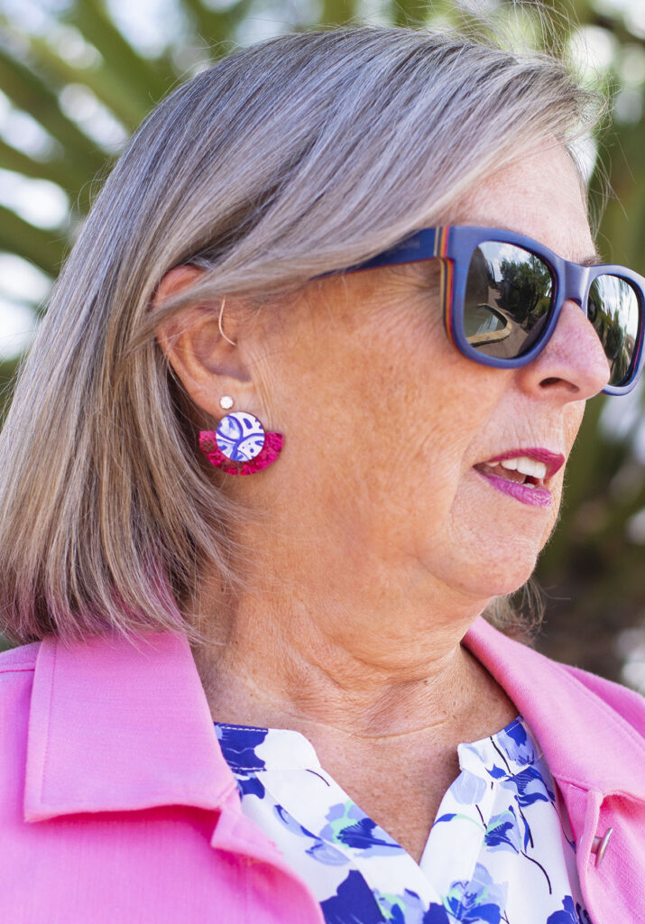 Audra style earrings