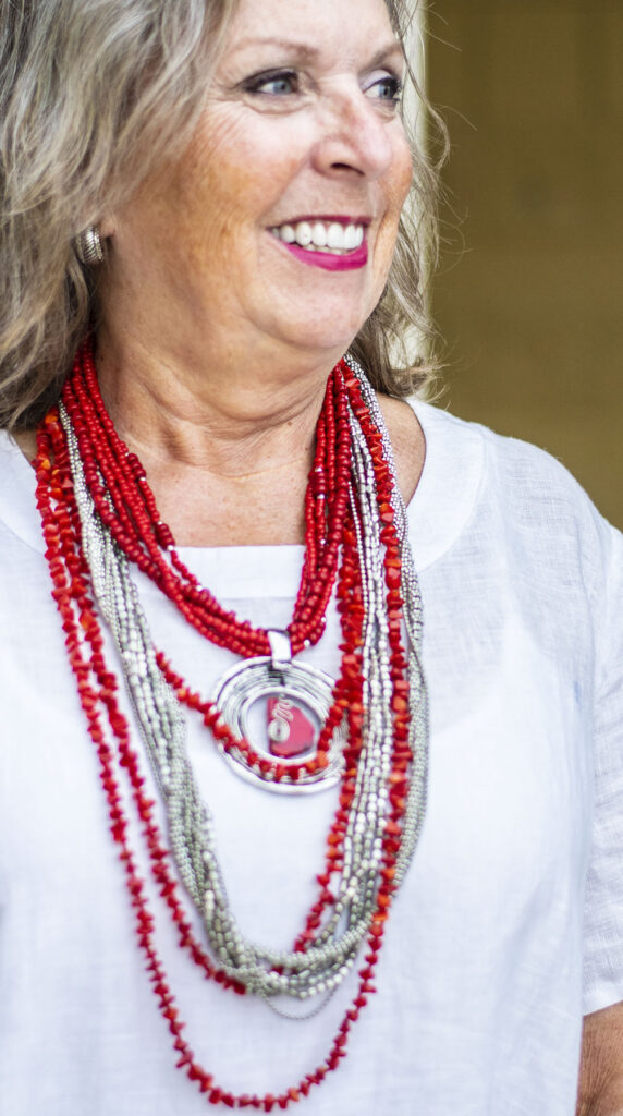 How to layer necklaces with multi strand jewelry