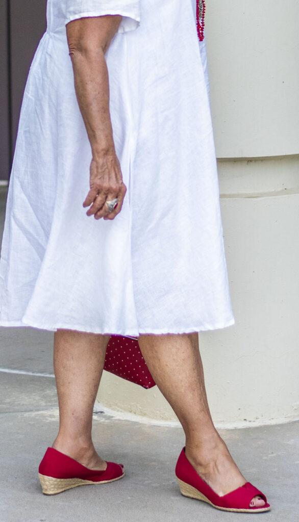 Summer shoes for older women