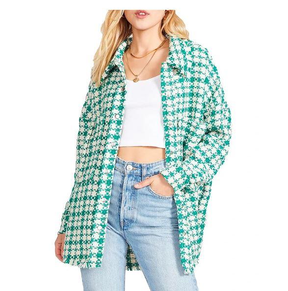 Shacket. Jacket and shirt