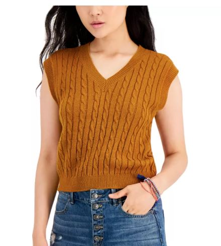 Sweater vest for fall 2021