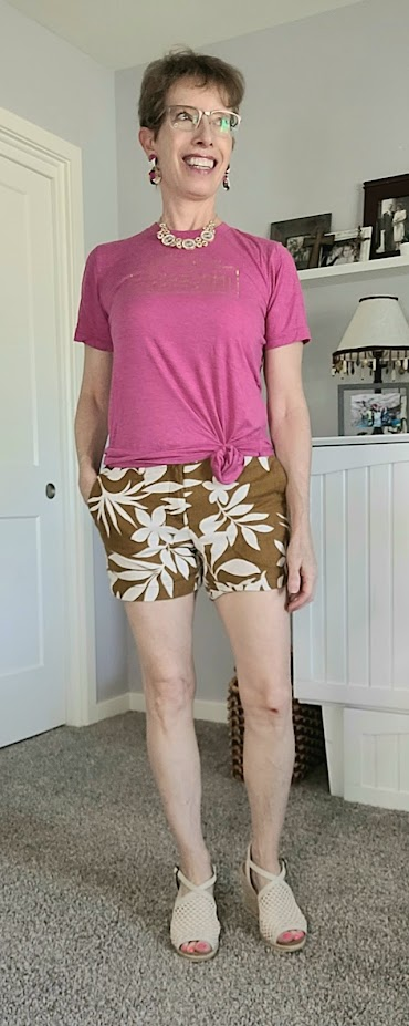 Daily outfits for fall with shorts