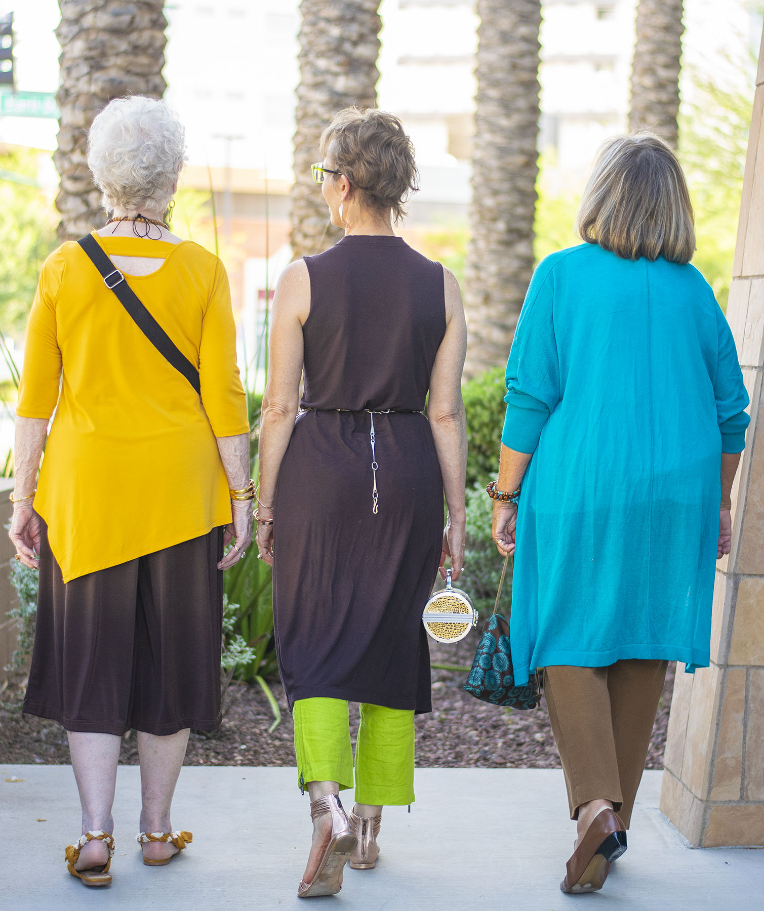 How to: Gem Colors to Wear with Brown & Ageless Style Link Up
