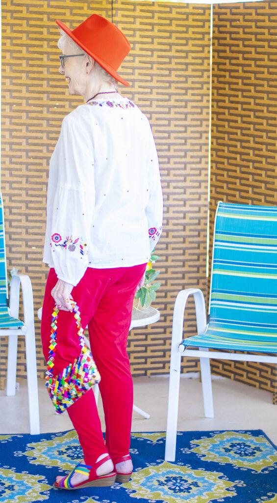 Boho look for older women