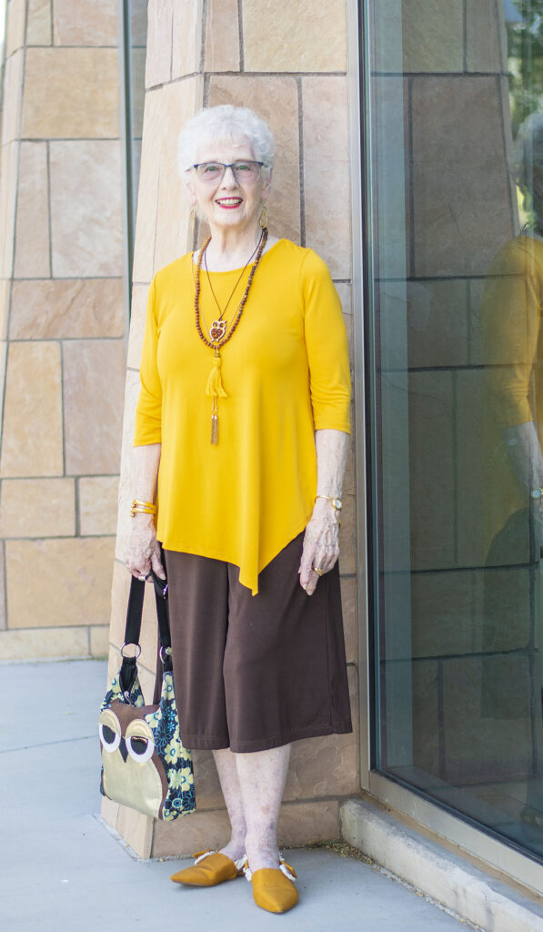 Fall colors for women over 80