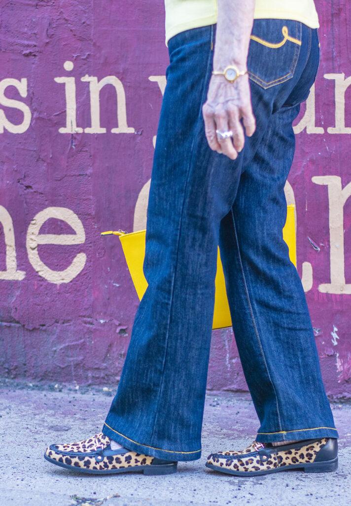 How to wear petite wide leg jeans