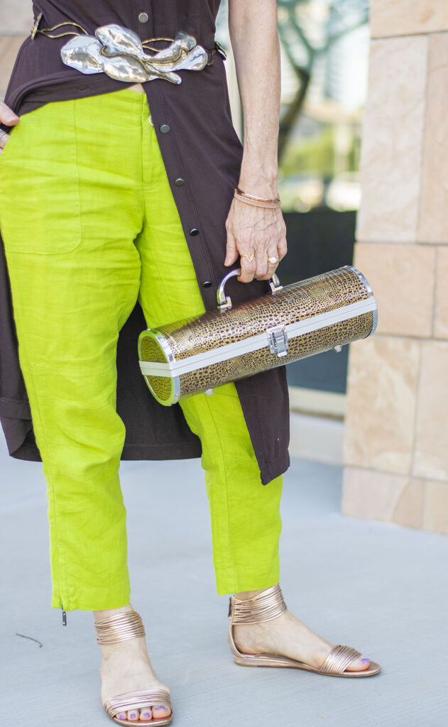 Wine carrier as a purse