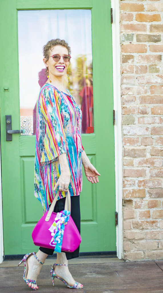 Tunic and culottes