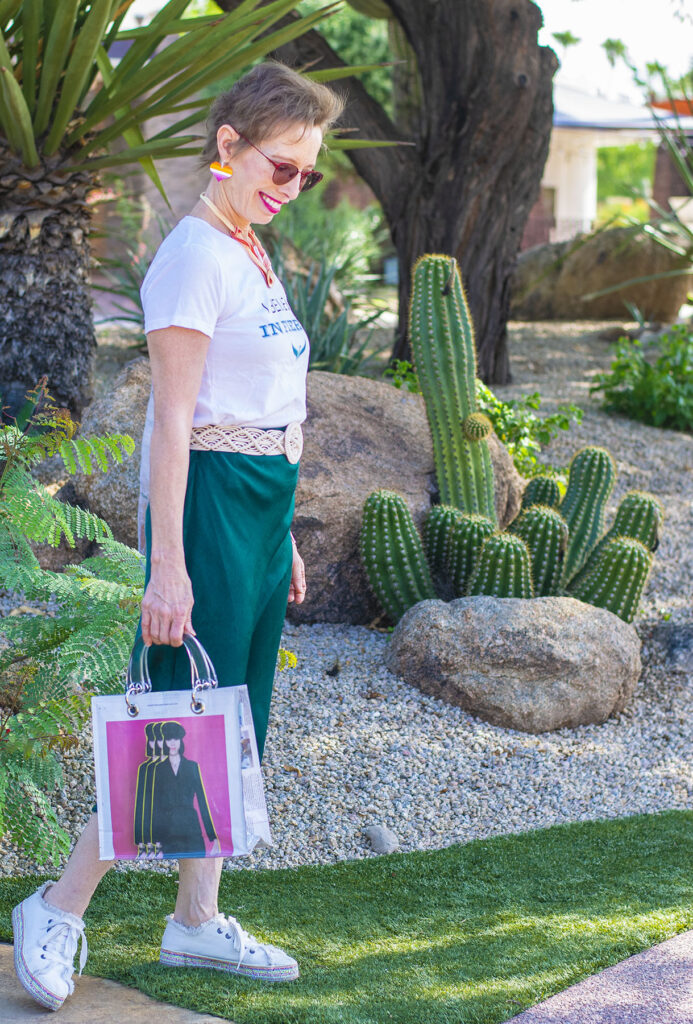 How to style a midi skirt for a casual day