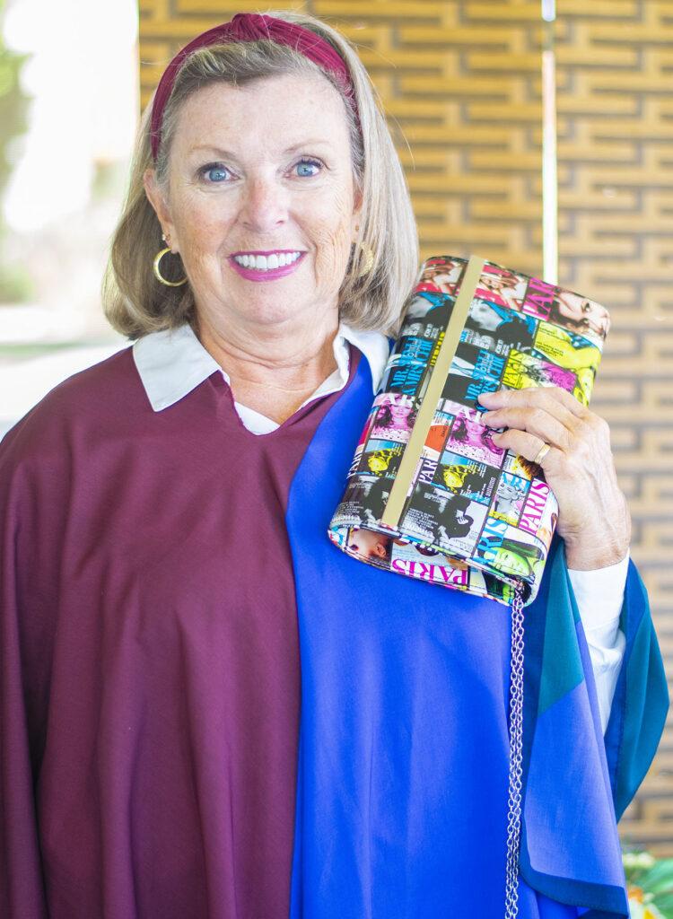 Whimsical purse for older women