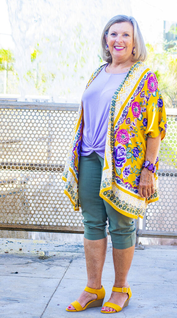 Bright colors for fall