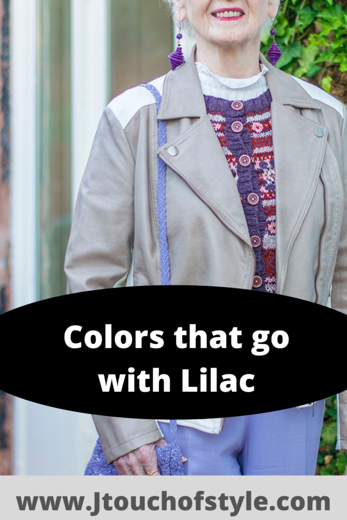 Colors that go with lilac