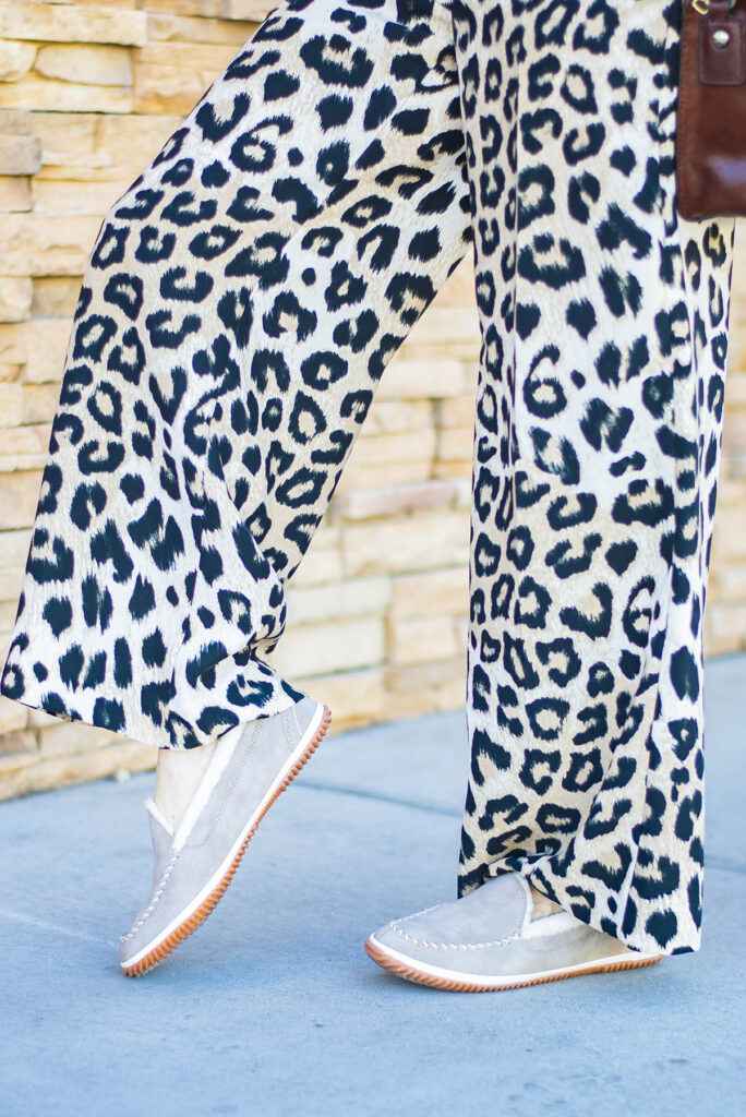 Light color shoes for fall